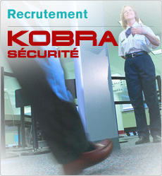 Recrutement KOBRA SECURITE